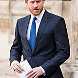 As Does Prince Harry, Naturally