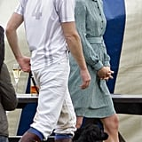 Prince William and Kate Middleton With Lupo