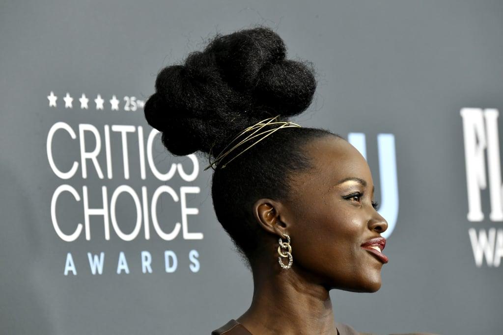Lupita Nyong'o at the 2020 Critics' Choice Awards