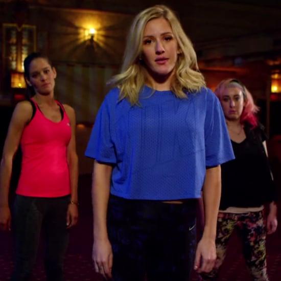 Ellie Goulding Activewear Parody