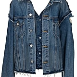 Kendall + Kylie Reconstructed Jacket ($395)