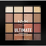 NYX Professional Makeup Warm Neutrals Ultimate Shadow Palette