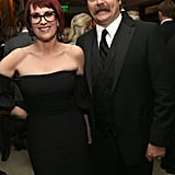 Megan Mullally and Nick Offerman hit up the afterparties.
