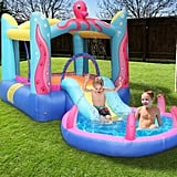 Inflatable Water Slide Park with Air Blower