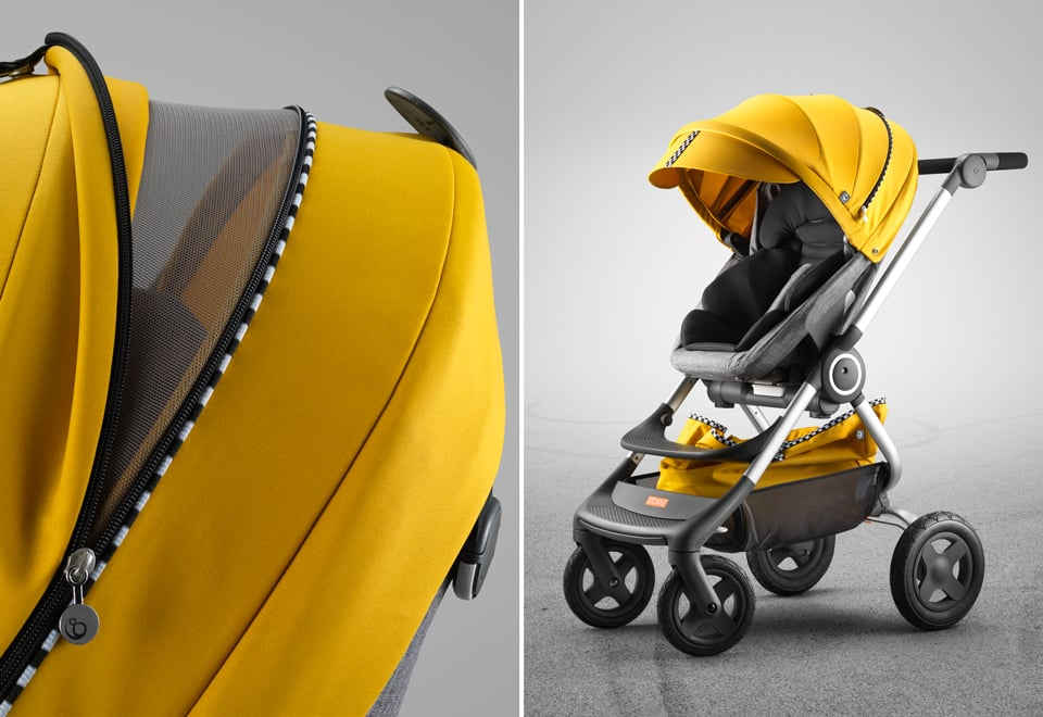 Stokke Scoot With Style Kit in Racing Yellow