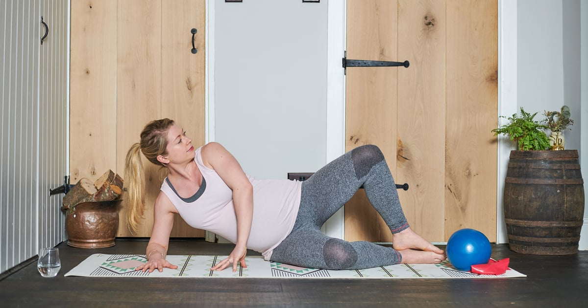 5 Pilates Moves to Strengthen the Muscles Needed to Carry and Care For Your Baby