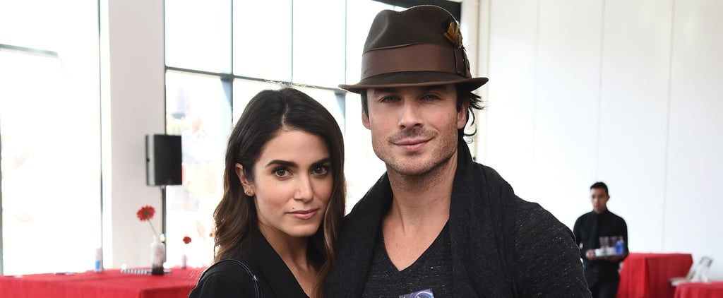Nikki Reed and Ian Somerhalder Keep Close at an NYC Event