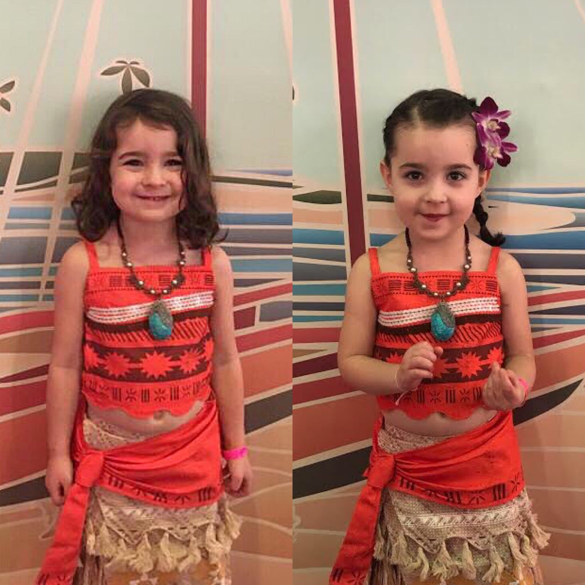 Official Disney Moana Childs Classic Costume Ages 3-8 Years