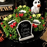 Man-Eating Wreath Treats