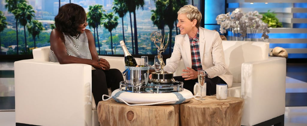 Viola Davis Reveals Her Husband's Hilarious Reaction to Her Emmys Speech