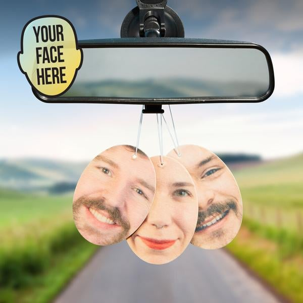 Fresh Face Personalized Air Freshener