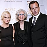 Jane Aronson posed with Worldwide Orphans Foundation Benefit Gala co-hosts Amy Poehler and Will Arnett.