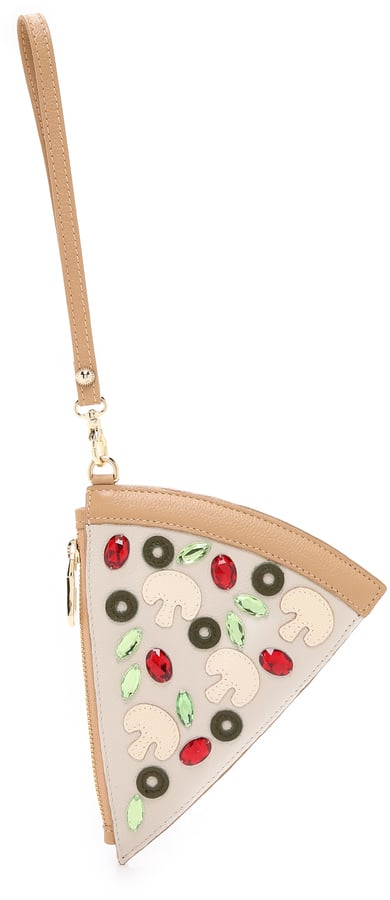 Patricia Chang Pizza Wristlet ($188)