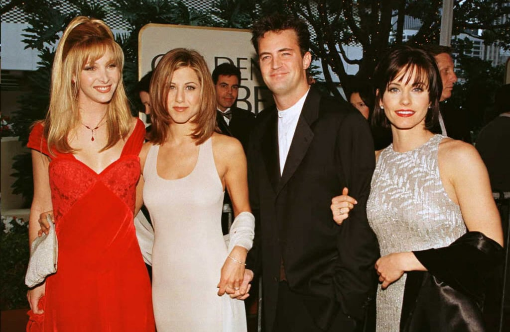 The friends cast at award shows over the years popsugar celebrity the friends cast at award shows over the years sciox Gallery