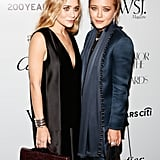 Ashley and Mary-Kate Olsen posed for photos at the awards.