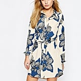 Vila Floral Shirt Dress ($51)