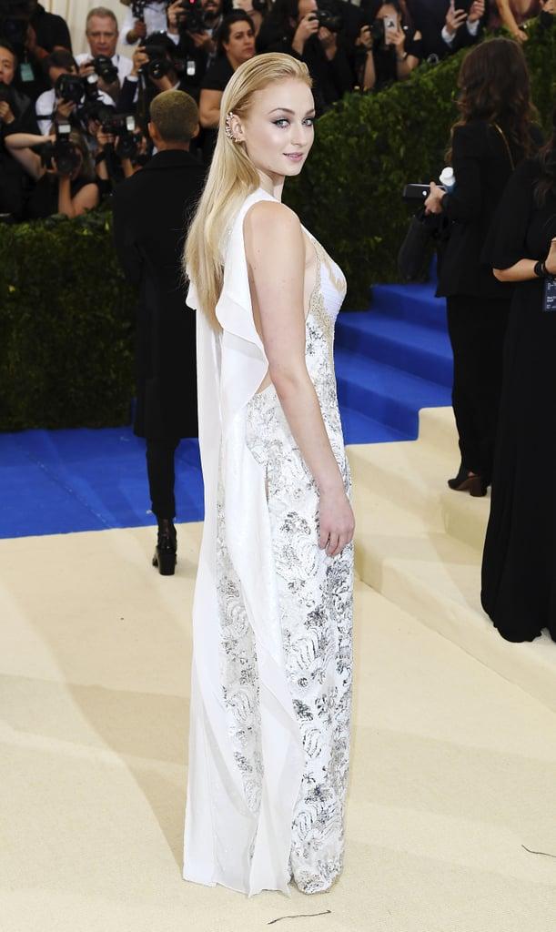 Sophie Turner's Louis Vuitton Dress at the Met Gala 2017