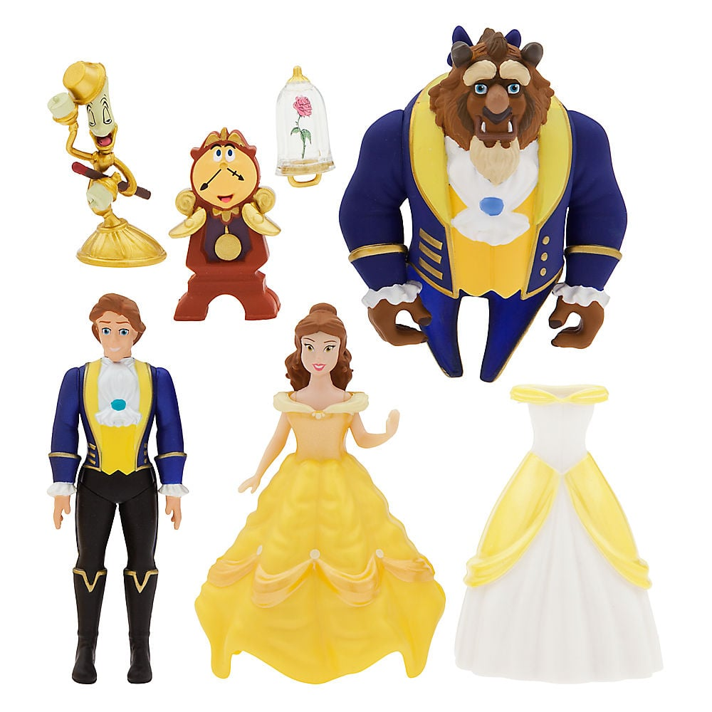 beauty and the beast toys popsugar moms