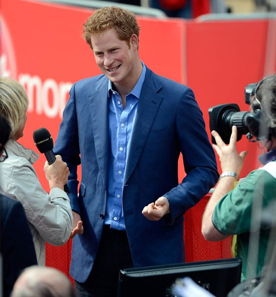 Prince Harry London Marathon Pictures
