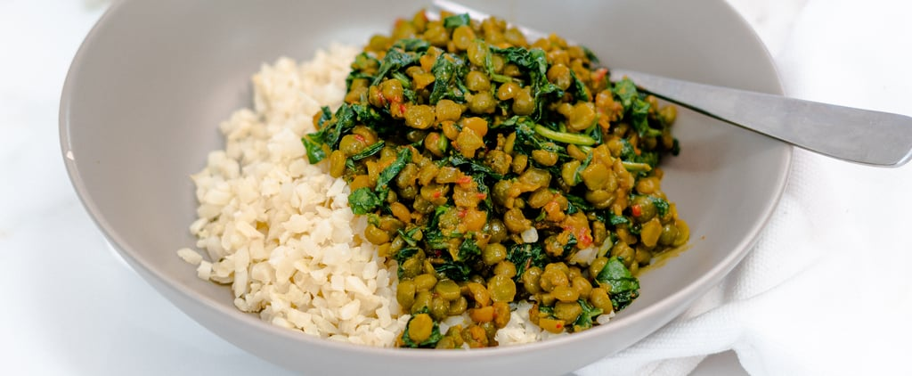 Sam Wood's Green Split Pea Dahl with Cauliflower Rice Recipe