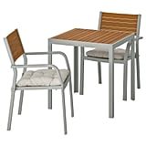 Själland Table With 2 Armchairs
