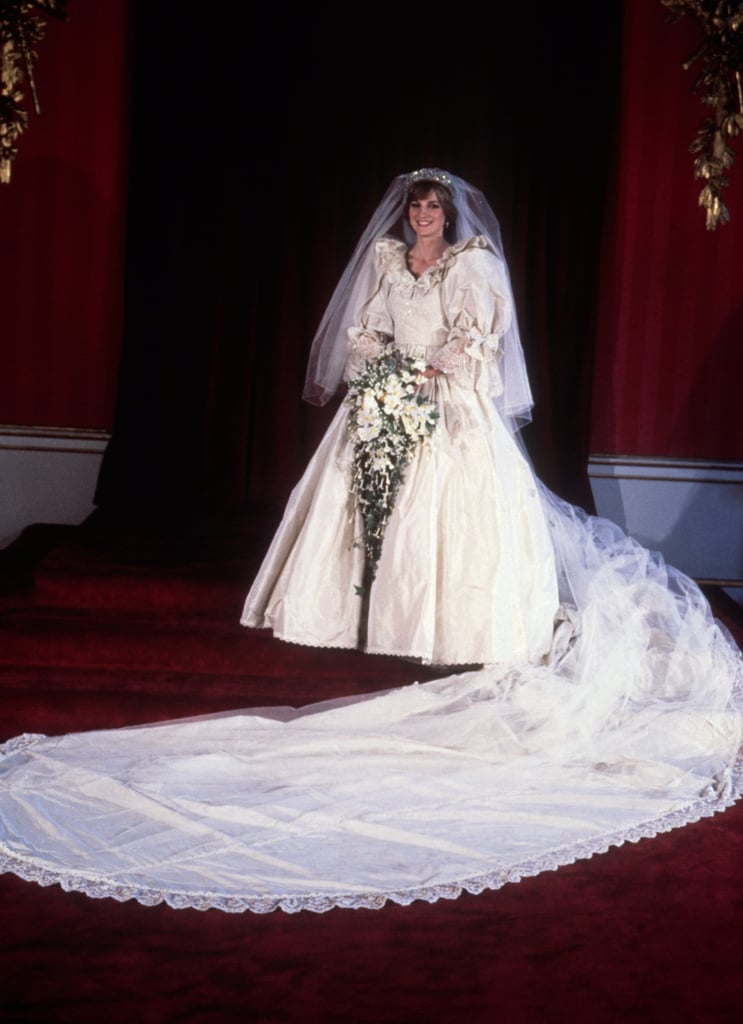 Royal Wedding Dresses Through the Ages | POPSUGAR Fashion