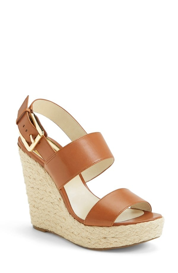 14e9a7d98 Michael Michael Kors Posey Espadrille Wedge Sandal ($140) | Sorry ...