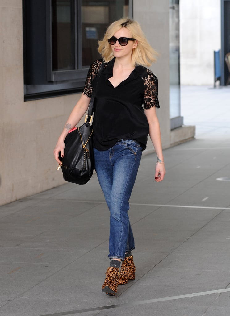 every outfit fearne cotton has worn to radio 1 in 2014. Black Bedroom Furniture Sets. Home Design Ideas