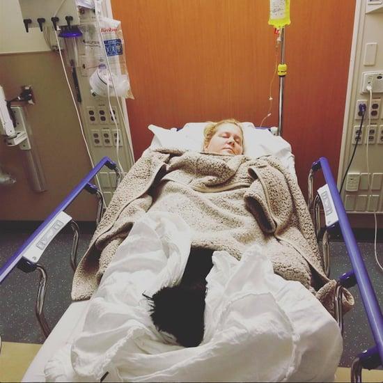 Amy Schumer Hospitalized With Hyperemesis Gravidarum 2018