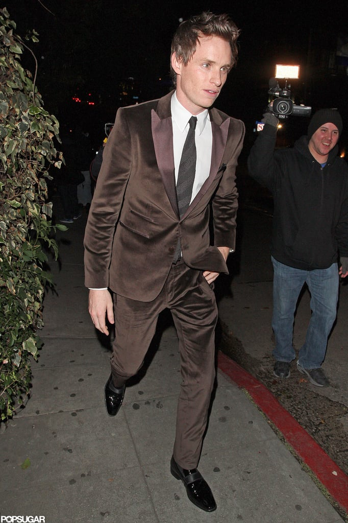 Ben, Jen, and the Les Mis Crew Celebrate Post-SAGs at Chateau Marmont