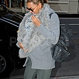 Beyoncé and Blue Go Gray For Their Latest Outing