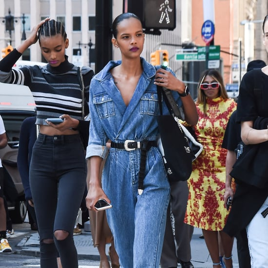 How Fashion Girls Are Styling Their Jeans at Fashion Week