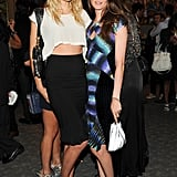 Lily Donaldson and Anouck Lepere were among the stylish attendees celebrating Mademoiselle C at New York's The Four Seasons.