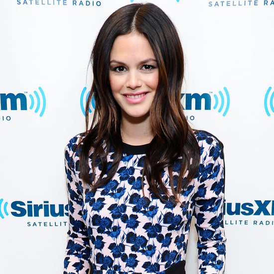 Rachel Bilson Flower Dress at SiriusXM