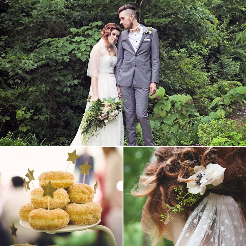Rain Just Enhanced the Magic of This Enchanting Vintage Wedding