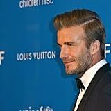 Pictured: David Beckham