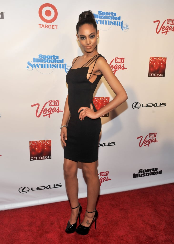 Ariel Meredith looked gorgeous at the event.