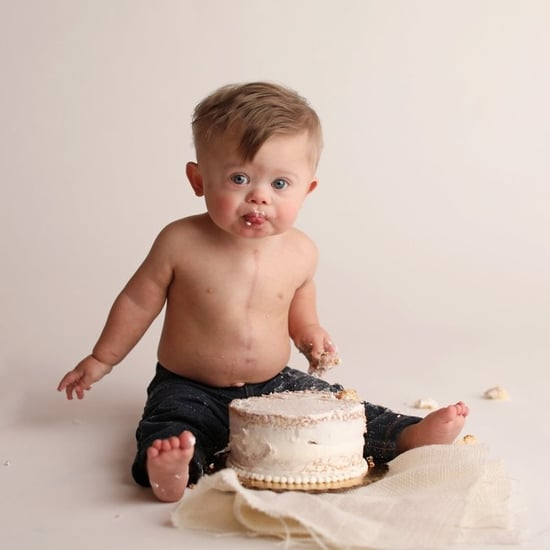 Baby With Down Syndrome Celebrates Birthday With Cake Smash