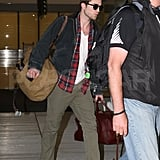 Robert Pattinson and Kristen Stewart Wrap Up Hot LA Weekend and Head Off
