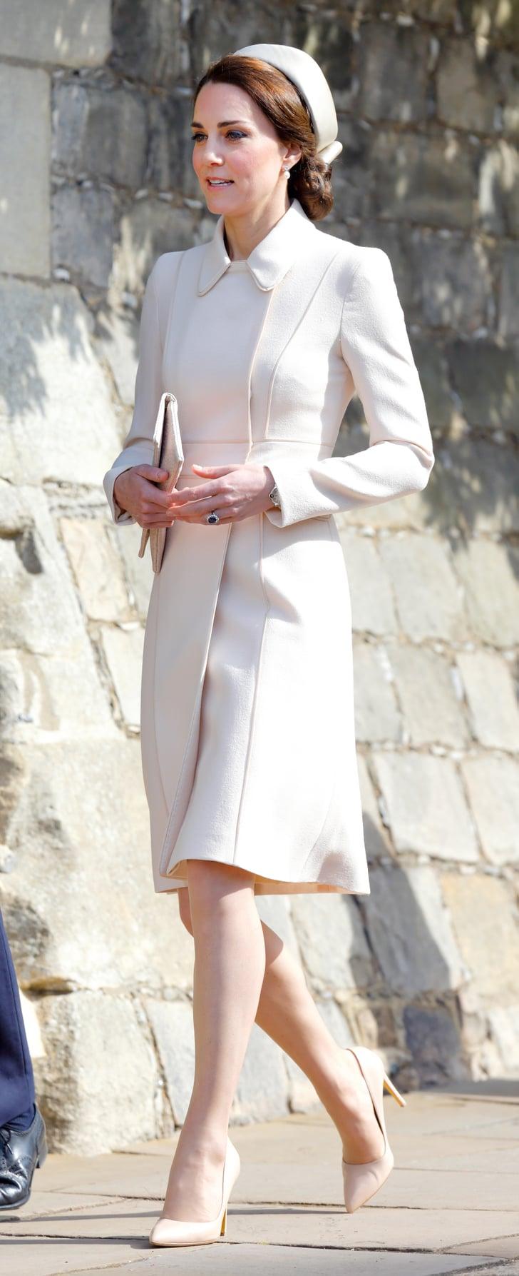 Kate In Catherine Walker April 2017 Kate Middleton Best
