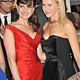 Carla Gugino and Naomi Watts paired up at the 2012 Tribeca Ball in NYC.