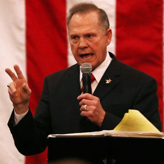 Roy Moore Contesting the Alabama Senate Election Dec. 2017