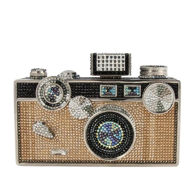 Judith Leiber Couture Camera Crystal Bag ($5,595)