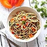 Easy Vegetarian Recipe: Asian Peanut Noodles