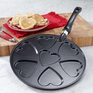 Heart-Shaped Pancake Griddle