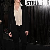 Scarlett Johansson endorsed family friend Scott Stringer, a 2013 NYC mayoral candidate, by hosting a party in his honor at the Maritime Hotel in NYC.