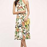 Eva Franco Pineapple Halter Dress ($188)
