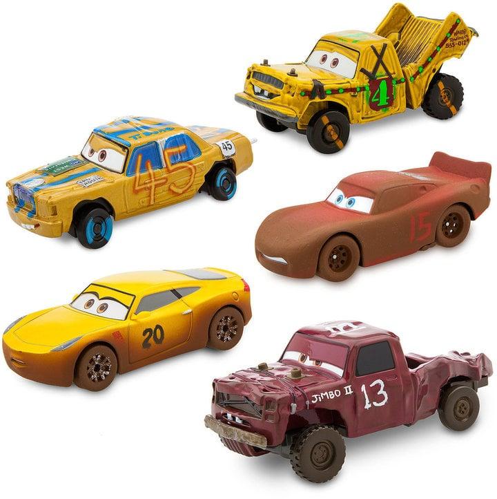 Cars  Deluxe Die Cast Set Crazy   Piece