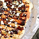 Mushroom and Goat Cheese Grilled Flatbread