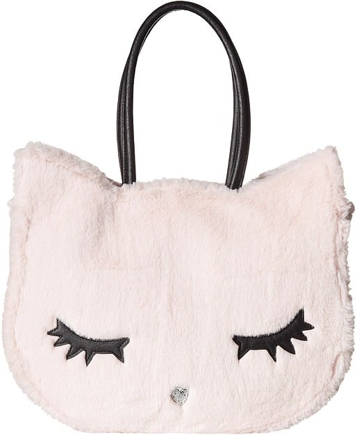 Luv Betsey Alley Kitch Plush Cat Tote